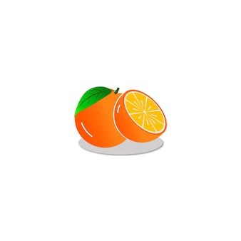 オレンジ色のロゴ