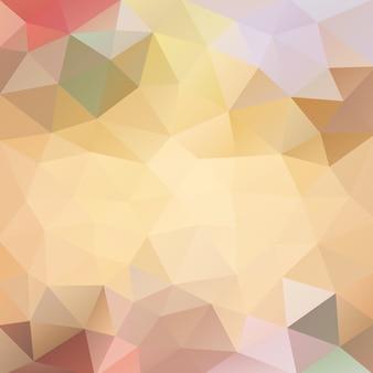 Оранжевый многоугольный фон мармелад