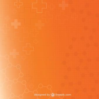 Orange medical background