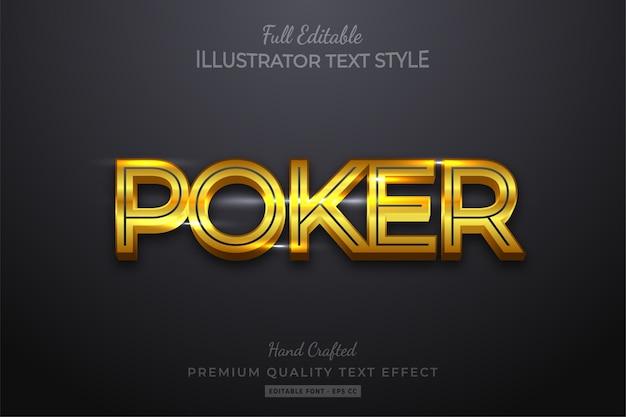 Orange modern editable  text style effect