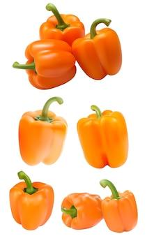Orange paprika