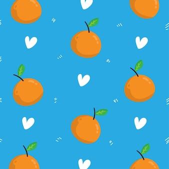 Оранжевый узор фона