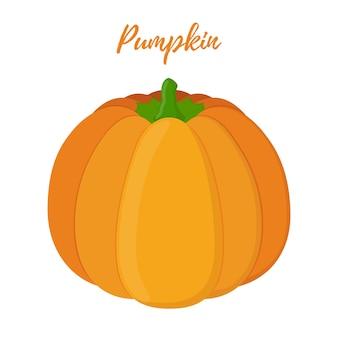 Orange pumpkin, Halloween symbol