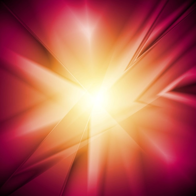 Оранжевый фиолетовый свечение абстрактного фона. векторный дизайн