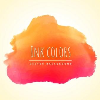 Vernice di colore dell'inchiostro arancione