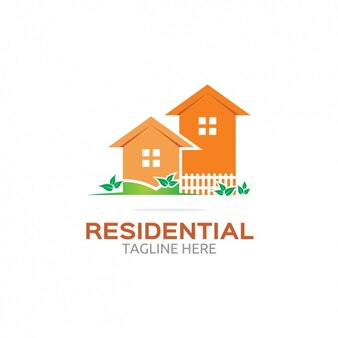 Orange residential logo