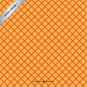 Orange rhombus pattern