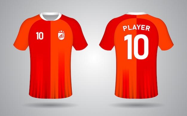 Оранжевый футболка с коротким рукавом