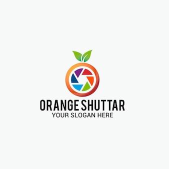 Orange shutter logo