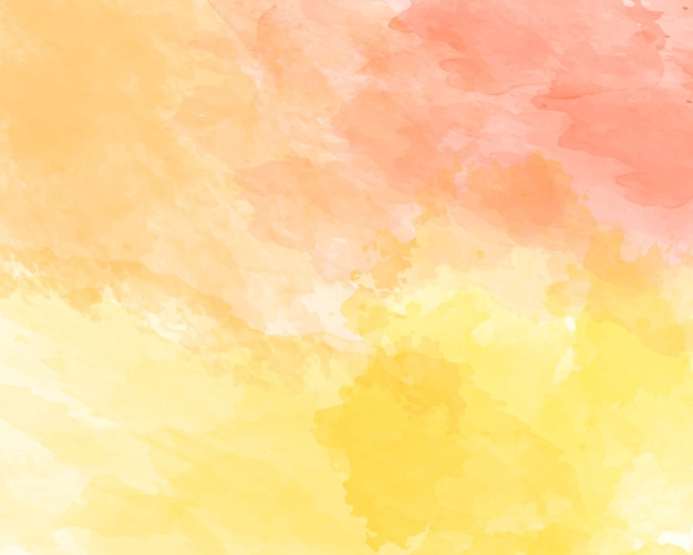 Orange soft watercolor abstract texture.
