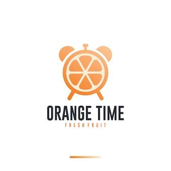 Orange time ,vitamin ,logo design inspiration