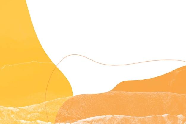Оранжевый тон простой мемфис