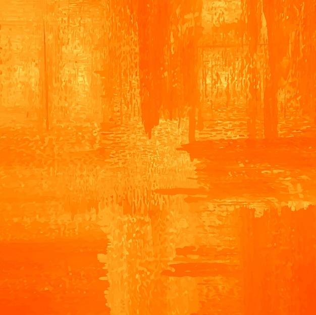 Sfondo acquerello arancione