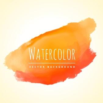 Acquarello orange splash sfondo