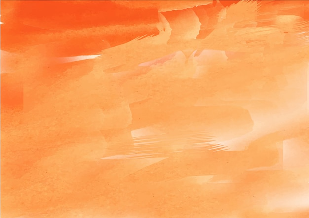 Orange and yellow abstract ink flow watercolor texture background