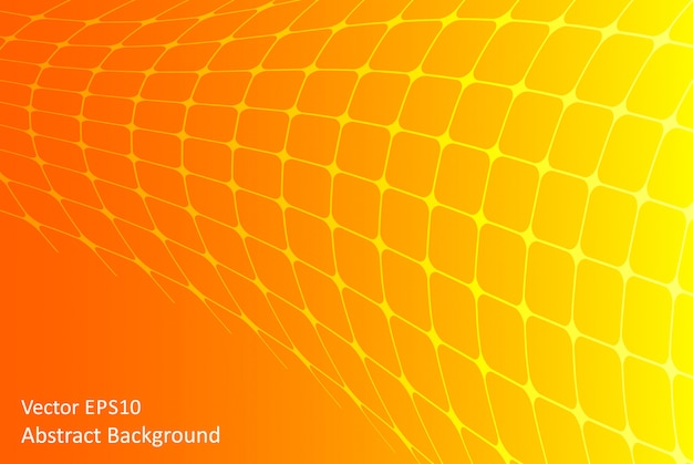 Orange and yellow abstract vector background