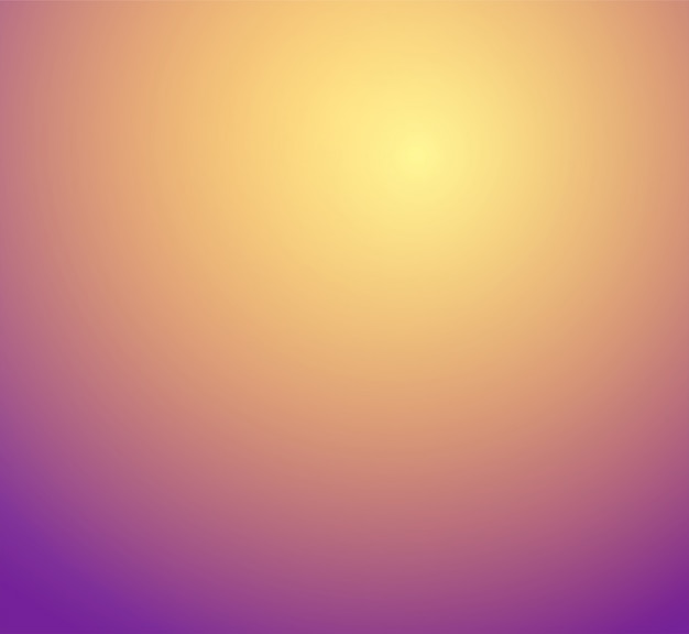 Orange, yellow, gold, purple blur gradient studio room
