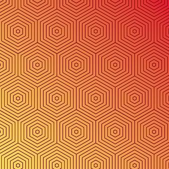 Оранжевый желтый градиент и узор фона, дизайн обложки.