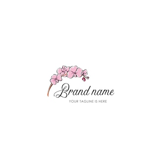 Orchid logo template