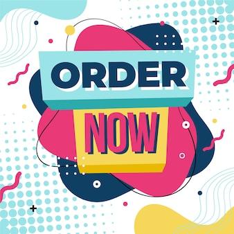 Order now banner