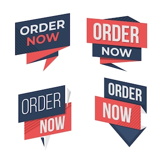 Order now label pack