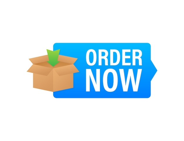 Order now for marketing design. web, graphic, banner. website icon symbol. website template. vector stock illustration