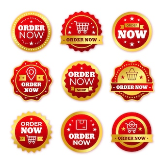 Order now - sticker collection