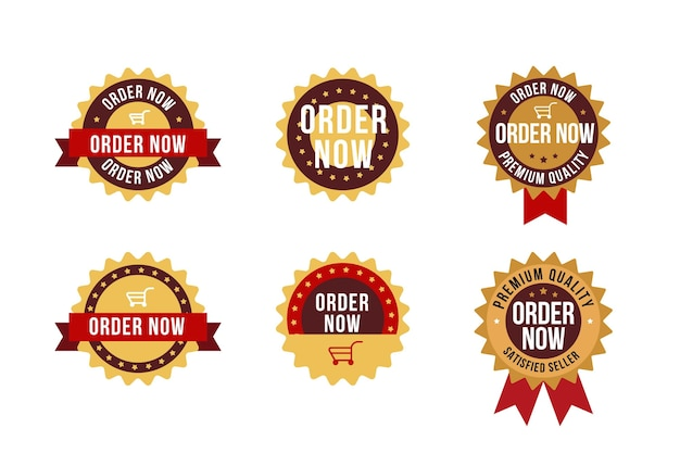 Order now sticker pack