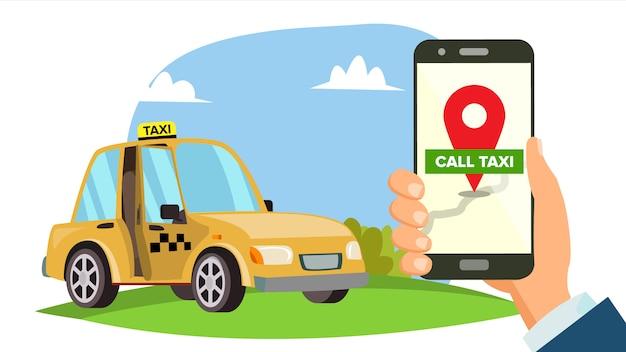 Order taxi app