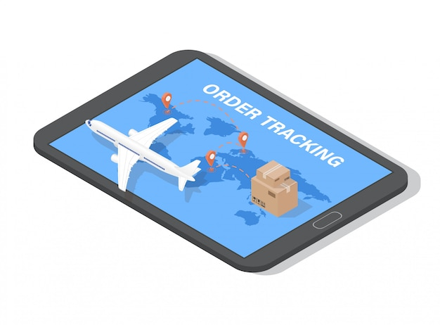 Order tracking app