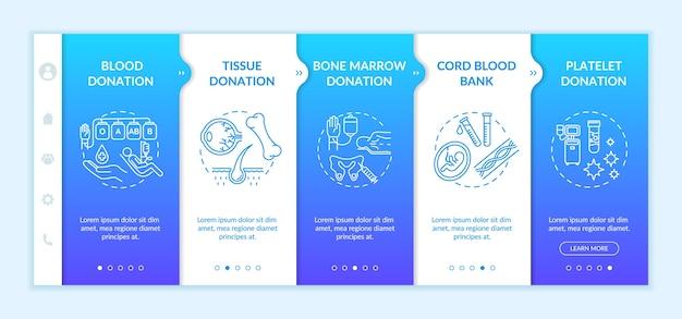 Шаблон адаптации для донорства органов