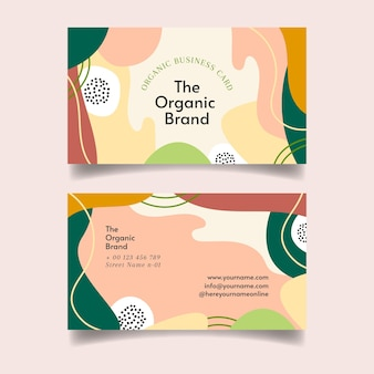 Organic business card