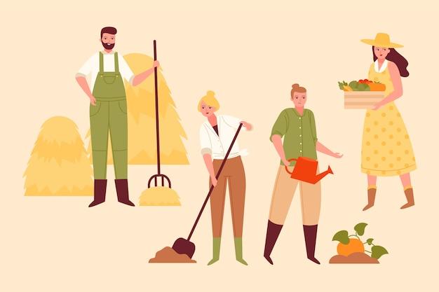Concetto di agricoltura biologica