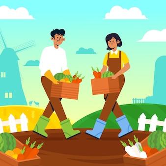 유기 농업 개념