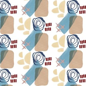 Органический плоский дизайн абстрактный элемент шаблона