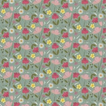 Органические плоские прессованные цветы
