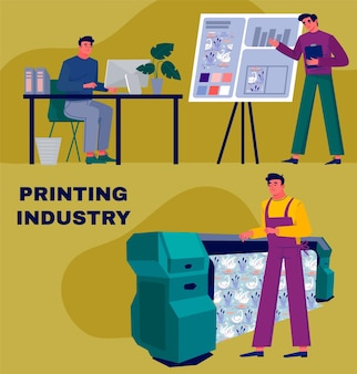 有機フラット印刷業界