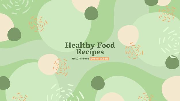 Arte del canale di youtube ricette piatte organiche