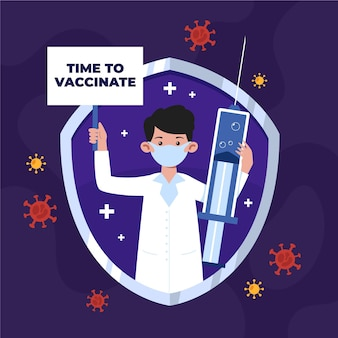 Organic flat vaccination campaign