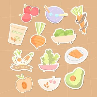 유기농 식품 컬렉션