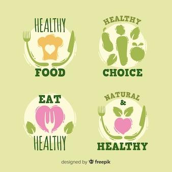 유기농 식품 라벨 수집