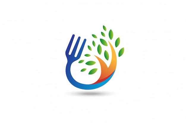 Organic food logo.