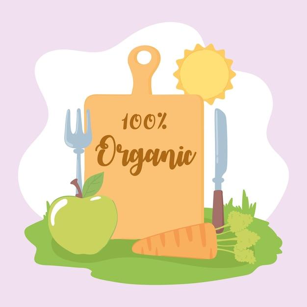 유기농 신선한 식품