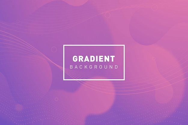 Organic gradient background