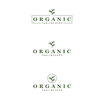 Organic logo luxury