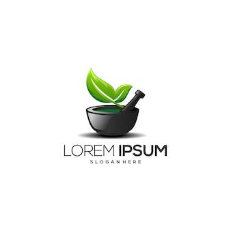 Organic medicine maker logo