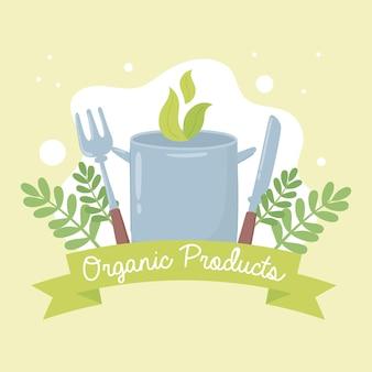 유기농 제품 디자인