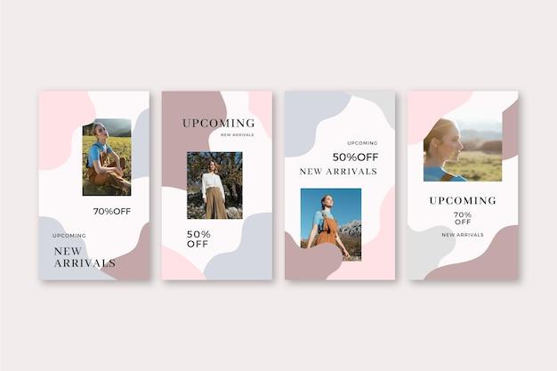 Vendita organica ig stories collection