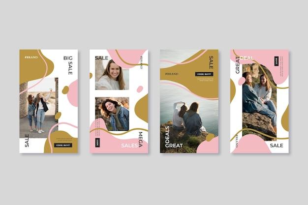 Органические продажи instagram пост дизайн