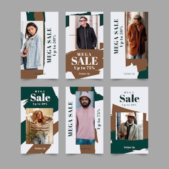 Organic sale instagram stories collection